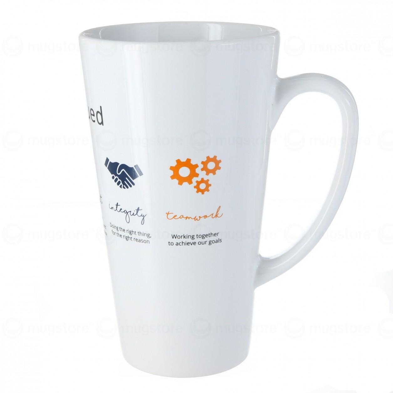 Cafe Latte Mug Branded From 1 76 At Mugstore
