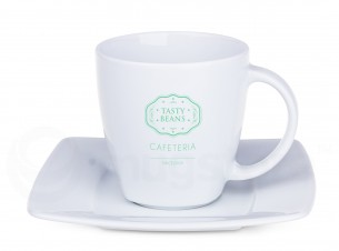 Manhattan Lunch Cup & Saucer