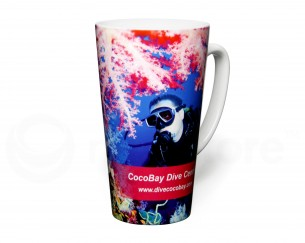 Duraglaze Tall Latte Full Colour Mug