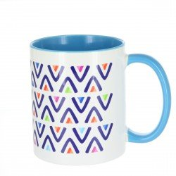 Duraglaze Durham Two-Tone Full Colour Mug